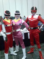 Go Go Power Rangers by AkraruPhotography