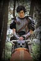 Skyrim - Dragonborn Cosplay Iron Armor by MicroChip31