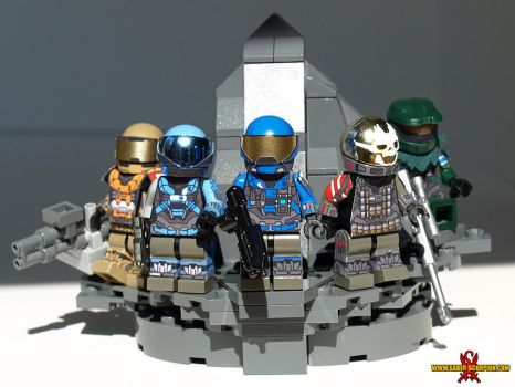 LEGO Noble Team by Saber-Scorpion