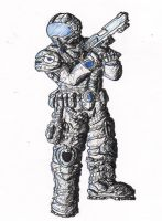 gears of war pilot by Anthony-Carmine