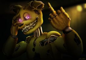 Springtrap - Insane by A-lichka