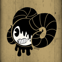 RamHorns!Bendy by MadameInfiniteHearts