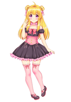 chica (COMMISSION) by KARIS-coba