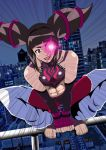 Juri-on-the-roof by chacrawarrior