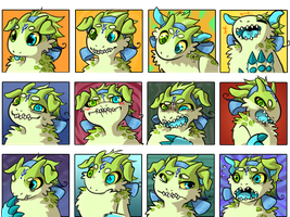 Lettuce Expressions by zetina