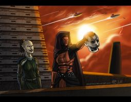 How Kotor 1 should have ended by Epantiras
