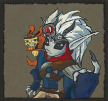 Dark Jak and Daxter by Kna