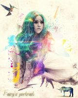 Fairy Portrait by phyoeminthaw