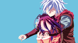 no game no life zero minimalist by tekmac