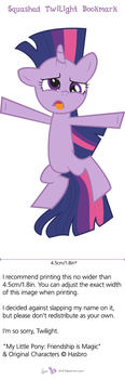 Squashed Twilight Bookmark by dm29