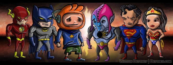 Scribblenauts ClassicB by WilliamDettrey