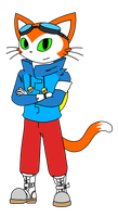 Blinx 3 Fan Design by catgirl140