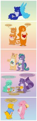 Care Bear Couples by ThisCrispyKat