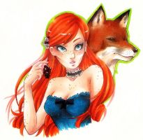 Hunger Games - Foxface by Shiita