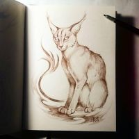Instaart - Caracal. by Candra