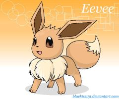 Eevee by BluuKiss
