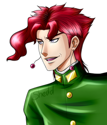 Kakyoin #2 by ShadowsNeko