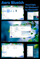 Aero Blueish for Windows 7 by TiborioART