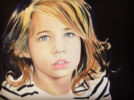 My Daughter, Age 4 by akrathan