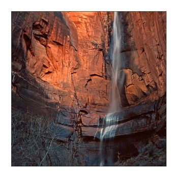 C4D Zion Canyon Waterfall by cravingfordesign