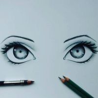 Eyes drawing :) by HonzikSuchy
