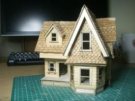 custom doll house by artmik