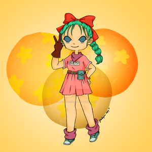 Digital Drawing - Memuary - Bulma