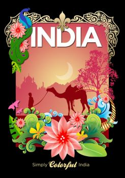Simply Colorful India by alvito