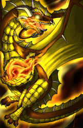 Through the Fire and Flames II by CometTheMicroraptor