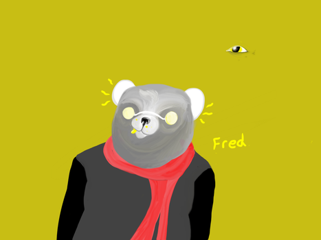 Fred Frud the Fird by TintedSpecs
