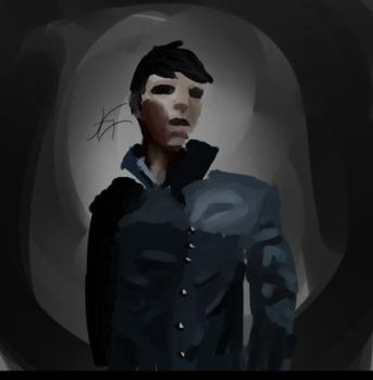 The outsider (Dishonored) by Kanash-i