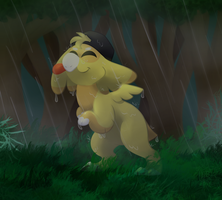 Fearless In The Rain by Mysteeria