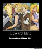 The many faces of Edward Elric by Inukag-edwin