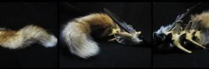 Red fox tail for sale by WoroTax