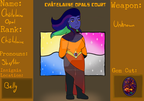 COC - Chatelaine Opal by DeadlyNightShade7753