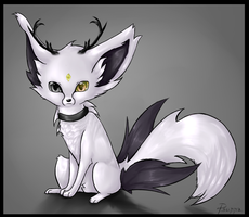 Fox Adoptable for pointsCLOSED by FinsterlichArt