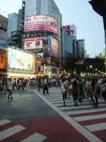 Shibuya Crossing by Alecca4you