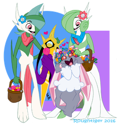 Bwest Fwiends meet The Twins by Roughtiger