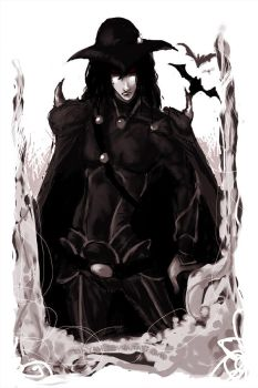 Vampire Hunter D by wayah