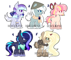 Pony adoptables #87 [CLOSED] by Icicle212