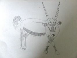 Oryx/Gemsbok by Skarlette8000