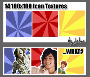 14 100x100 Icon Textures by thexunknown