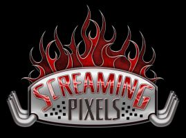 Screaming Pixels Logo by ce3Design