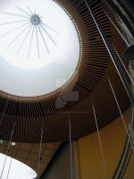 Circular Ceiling by Sing-Down-The-Moon