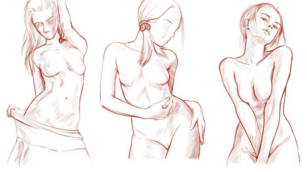 Female Body Practice by forgotten-wings