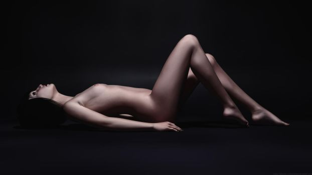 Cathy Toshlyra - Full Body Pose Dramatic Color by Toshlyra-Studios