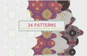 Retro Patterns by crazykira-resources