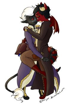 Ych Couple for Leebury by Norjor