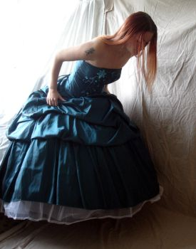 Blue Gown 2 by mizzd-stock