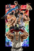 The Fighters by DHK88